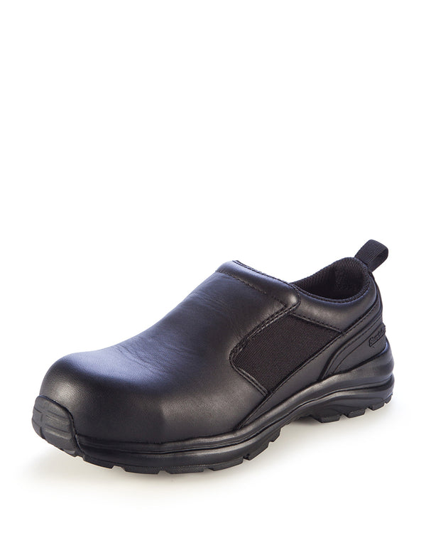 886 Womens Slip On Safety Shoe - Black