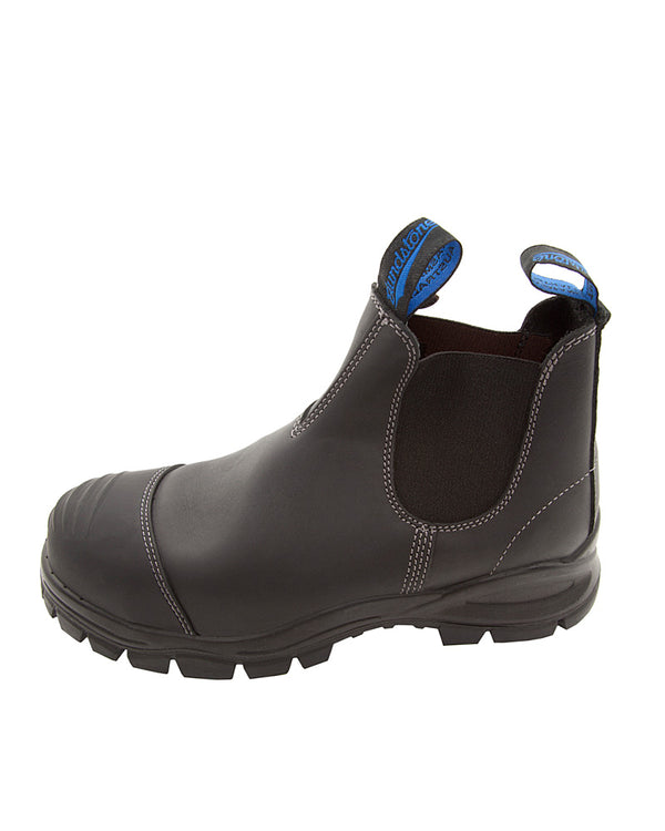 Style 990 Elastic Side Safety Boot - Black