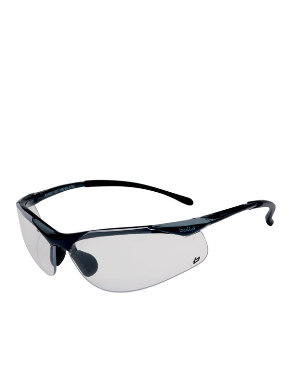 Sidewinder Safety Glasses Clear Lens - Clear