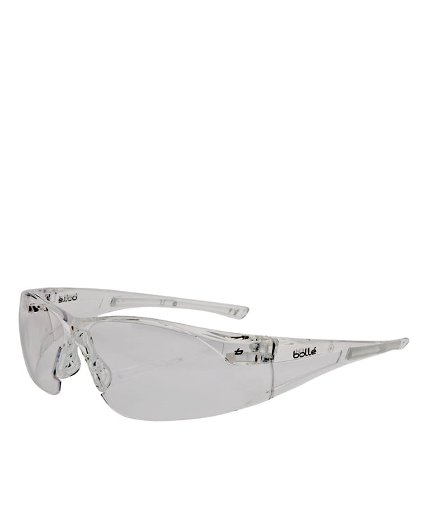 Rush Safety Glasses Clear Lens - Clear