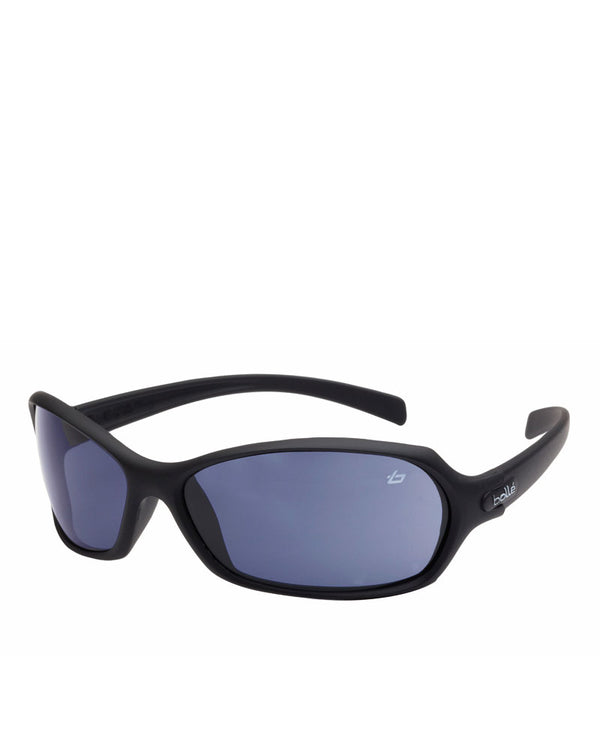 Hurricane Safety Glasses Blue Lens - Black