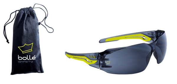 Silex Safety Glasses - AS/AF Smoke