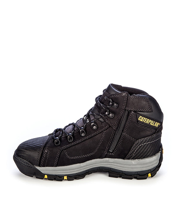 Convex Mid 720055 Zip Side Safety Boot - Black
