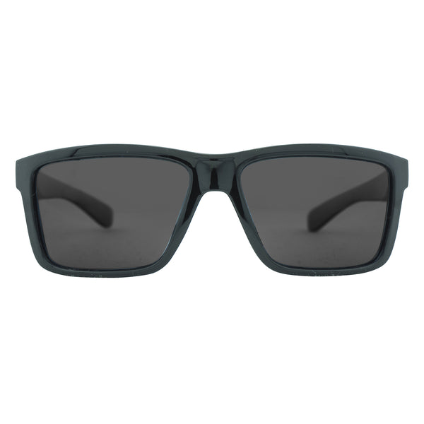 Climb Polarised Sunglasses - Black/Smoke