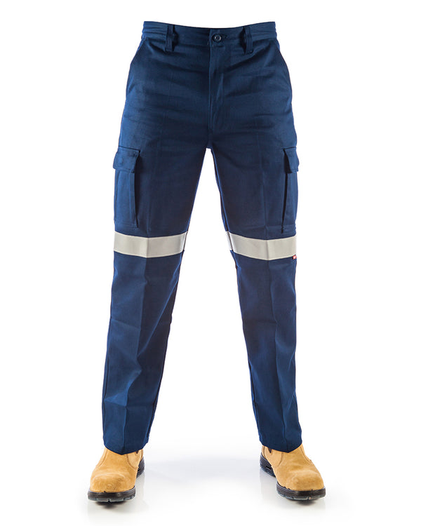 Patron Saint Flame Retardant Cargo Pants with 3M F/R Tape - Navy