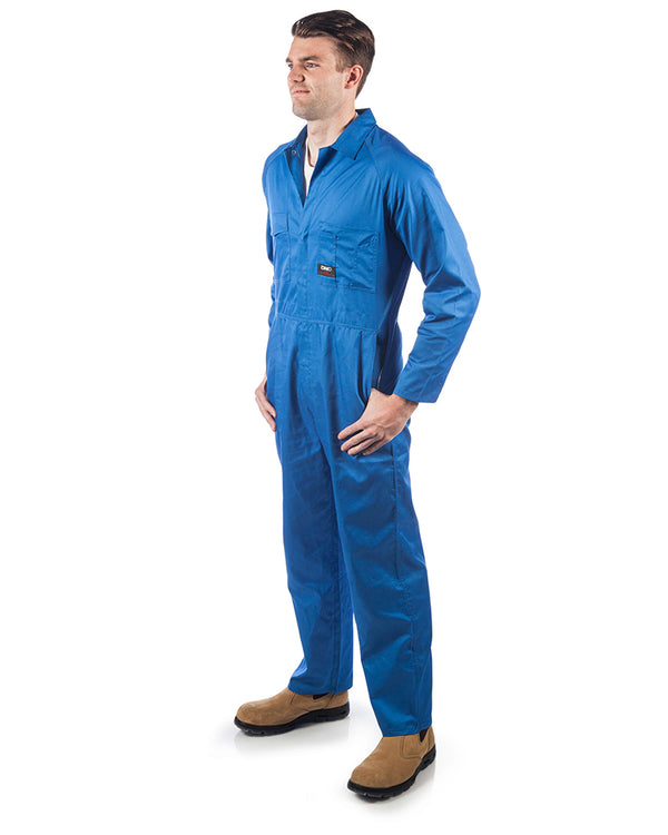 Polyester Cotton Coverall - Medium Blue