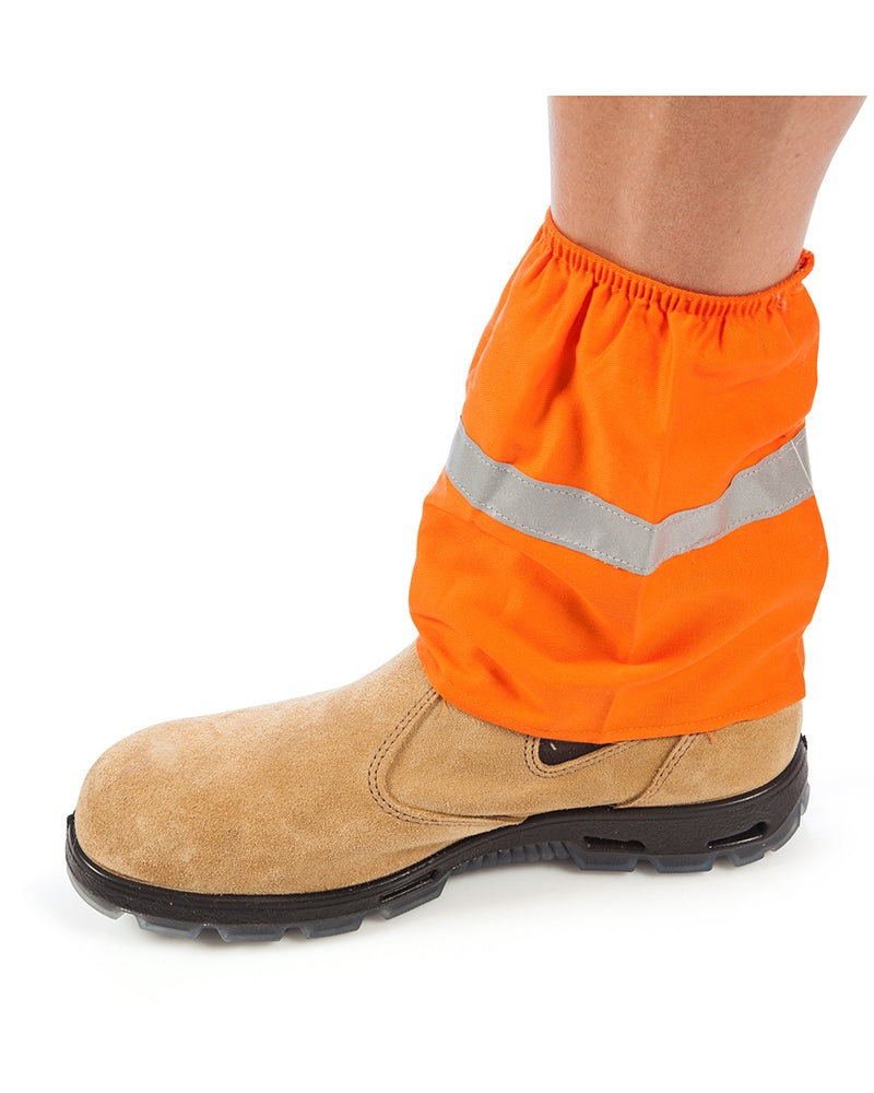 Cotton Boot Covers with 3M Tape - Orange