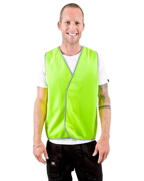 Hi Vis Day Safety Vest - Yellow