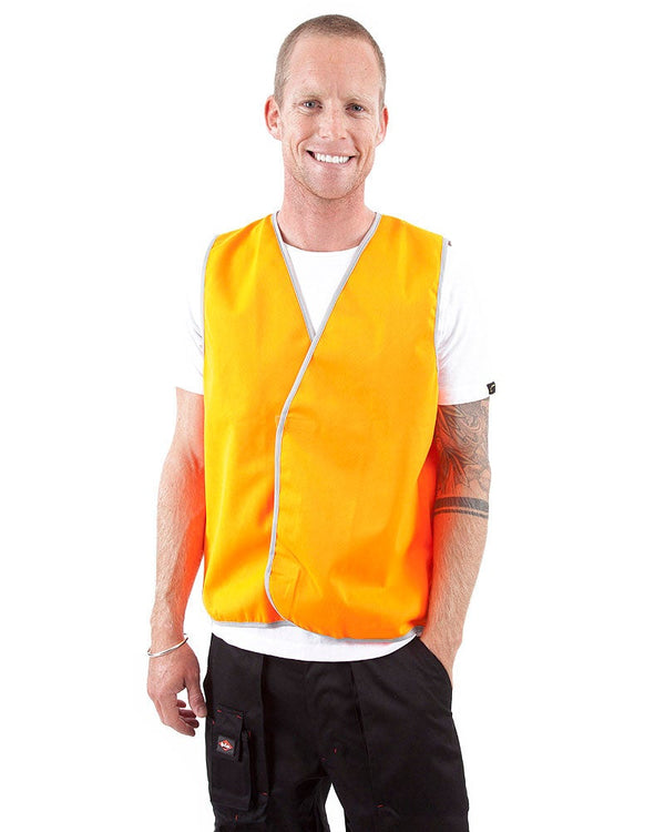 Hi Vis Day Safety Vest - Orange