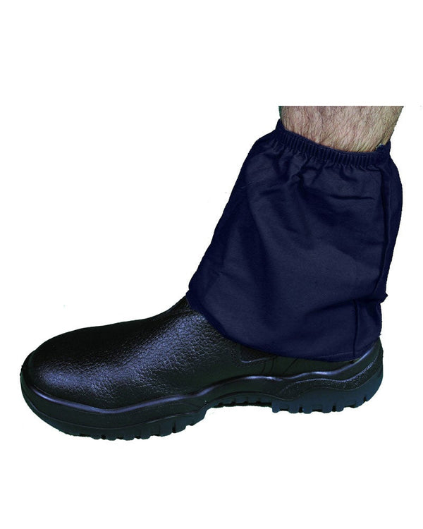 Cotton Boot Covers - Navy