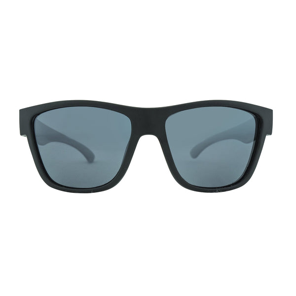 Escape Floating Polarised Sunglasses - Matt Black/Smoke