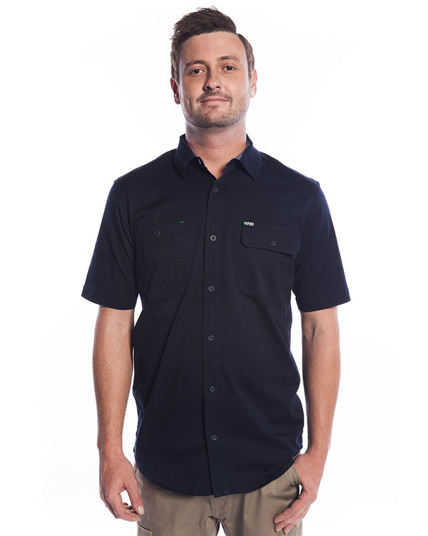 SSH-1 Stretch Work Shirt SS - Navy