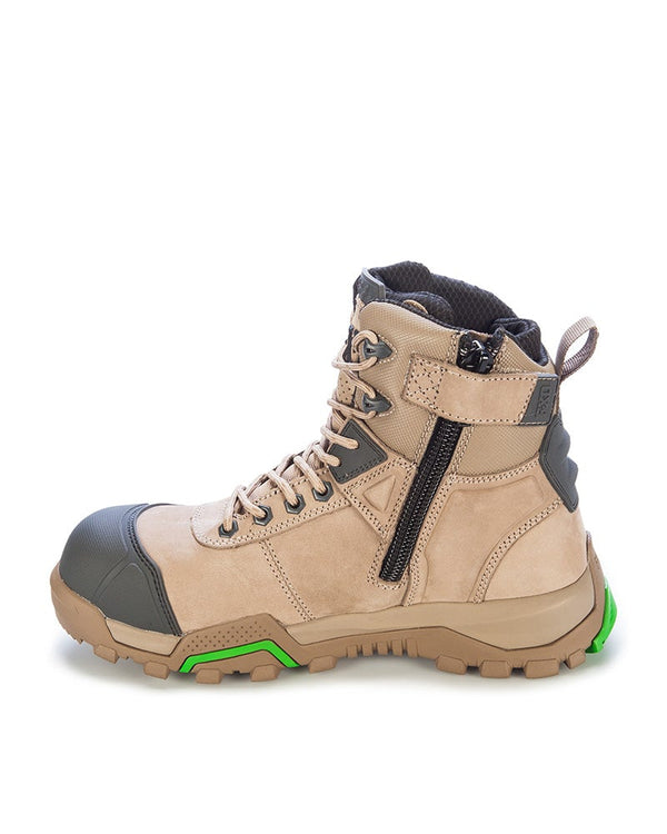 WBL-1 6.0 Safety Boot (Ladies Sizing) - Stone