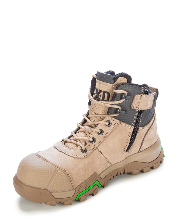 WBL-2 4.5 Safety Boot (Ladies Sizing) - Stone