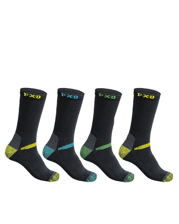 SK-2 Assorted 4PK Socks - Black