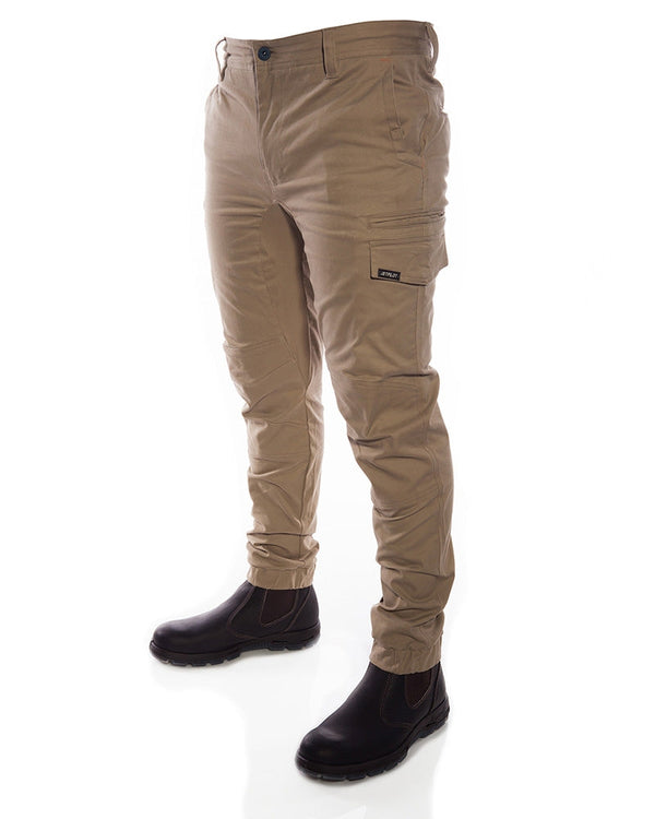 Fueled Cuffed Pant - Khaki