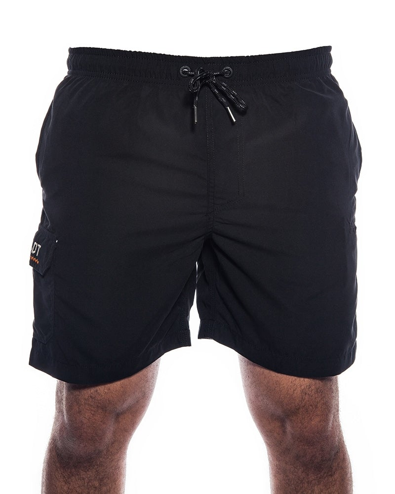 Jet-Lite Elasticated Short - Black