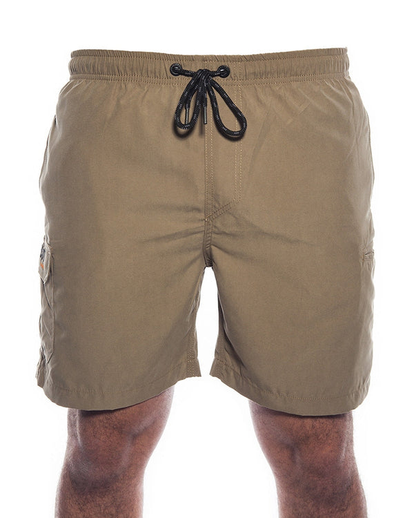 Jet-Lite Elasticated Short - Khaki