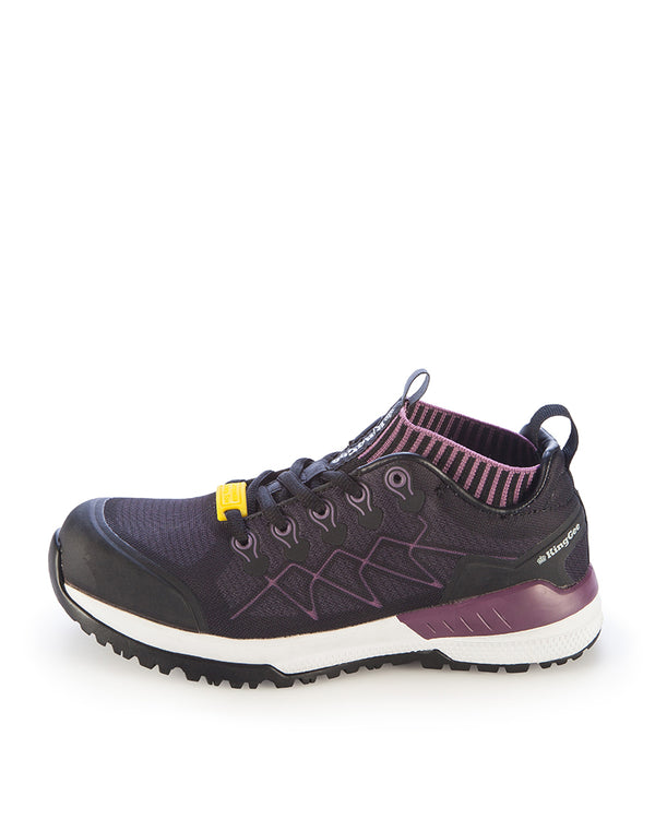 Women's Vapour Safety Shoe - Blackberry
