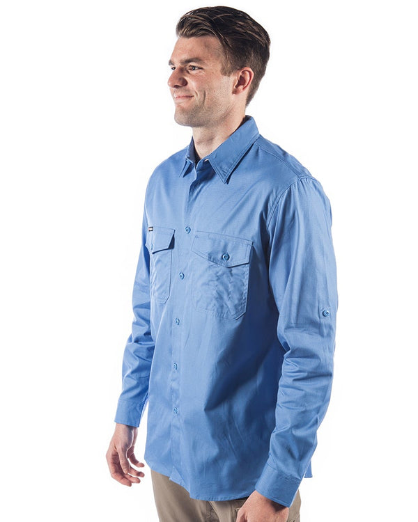 Workcool 2 Long Sleeve Shirt - Sky