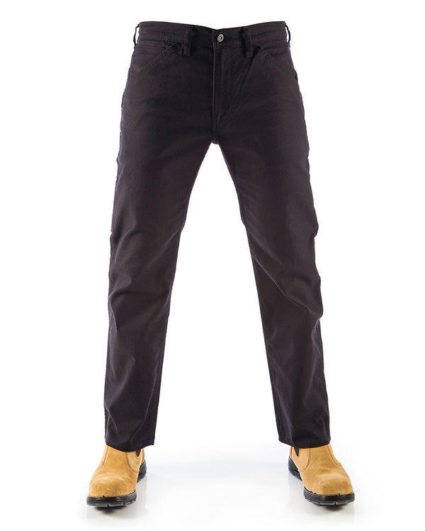 505 Regular Fit Workwear Jeans - Black