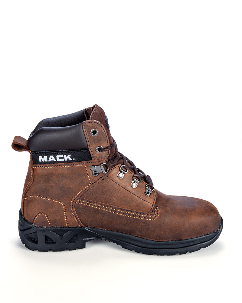 Bulldog II Lace Up Safety Boot - Rocky Brown