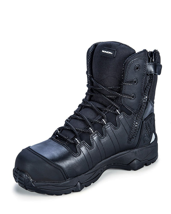 TerraPro Zip Safety Boot - Black