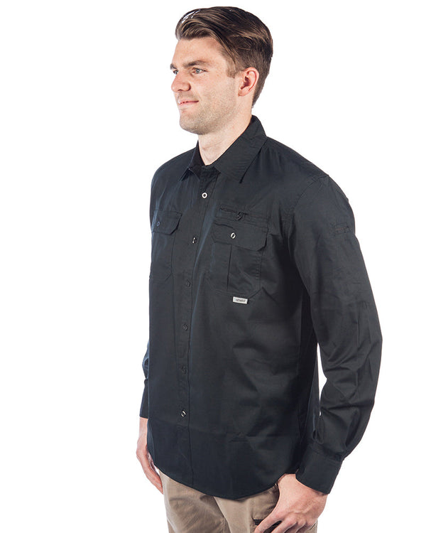 Sitemaster LS Shirt - Black