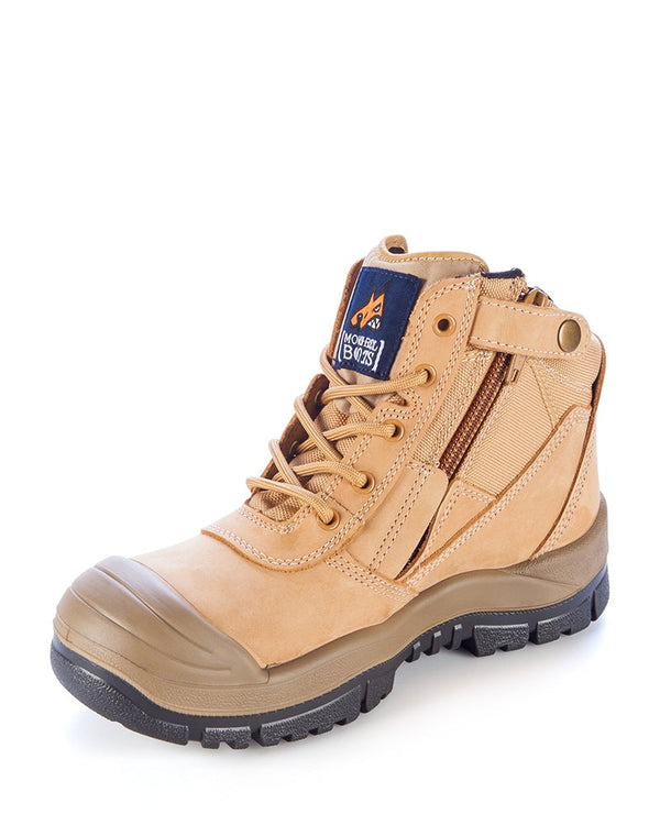 Zipsider Safety Boot - Wheat