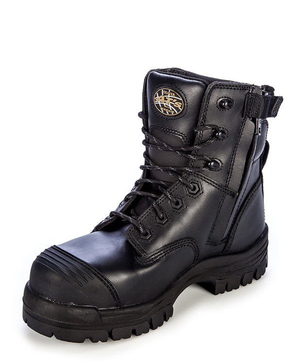 AT 45645z Composite Toe Zip Side Boot - Black