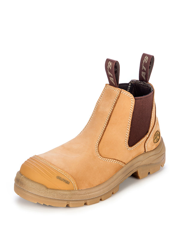 55322 Elastic Sided Boot - Wheat