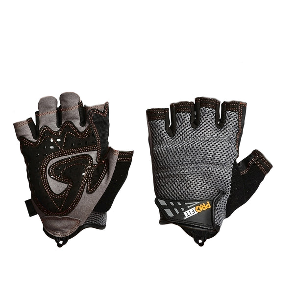 Pro-Fit Fingersless Glove - Black