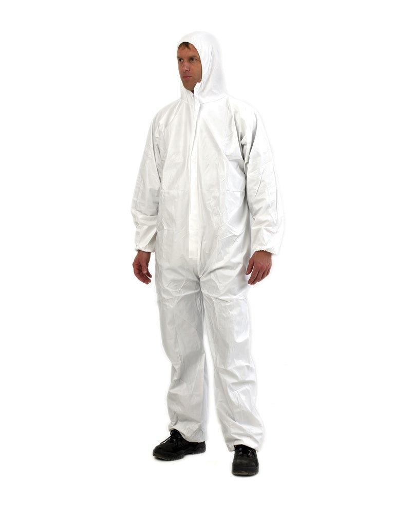 Provek Disposable Coveralls - White