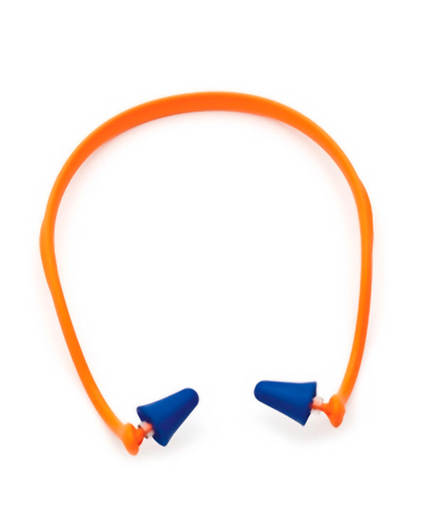 Pro Band Headband Fixed Earplugs - Blue