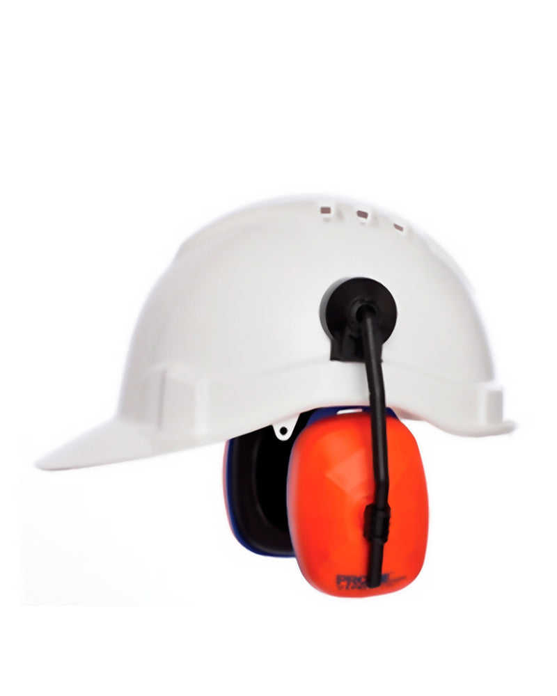 Viper Hard Hat Earmuffs - Black