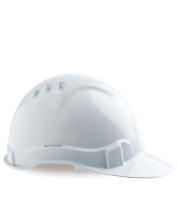 Vented Hard Hat - White