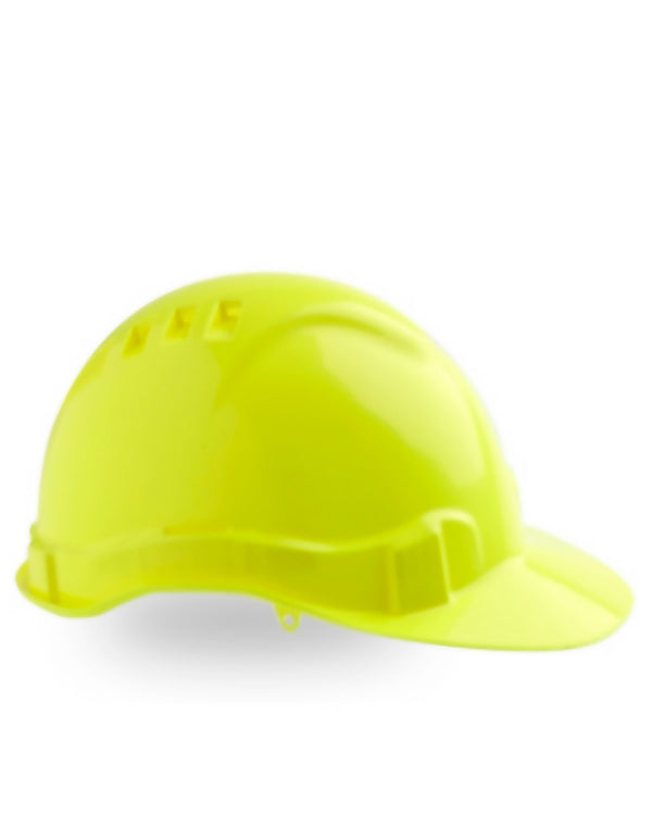 Vented Hard Hat - Yellow
