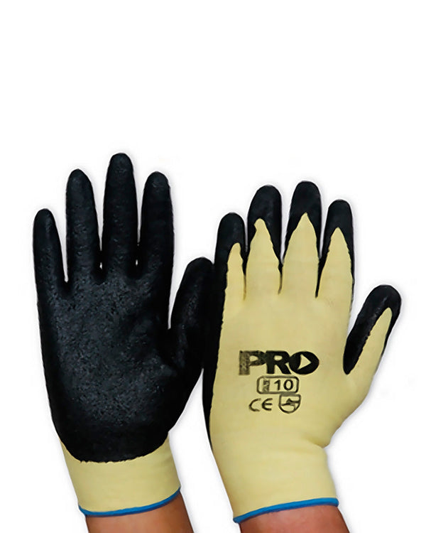 Knitted Kevlar Nitrile Glove - Black