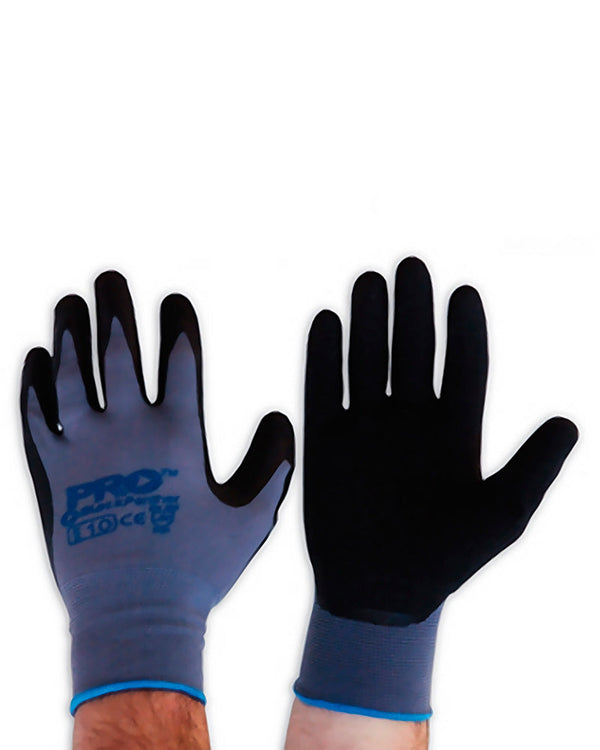 Black Latex Panther Glove - Black