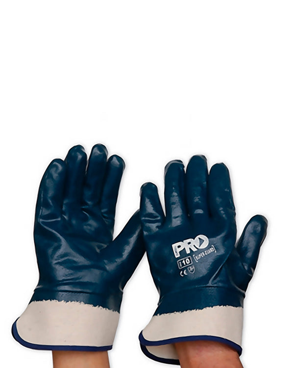 Super Guard Nitrile Fully Dipped Glove - Blue