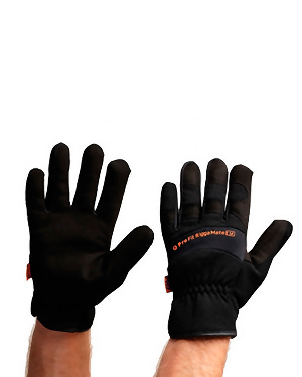 Pro-Fit Riggamate Glove - Black