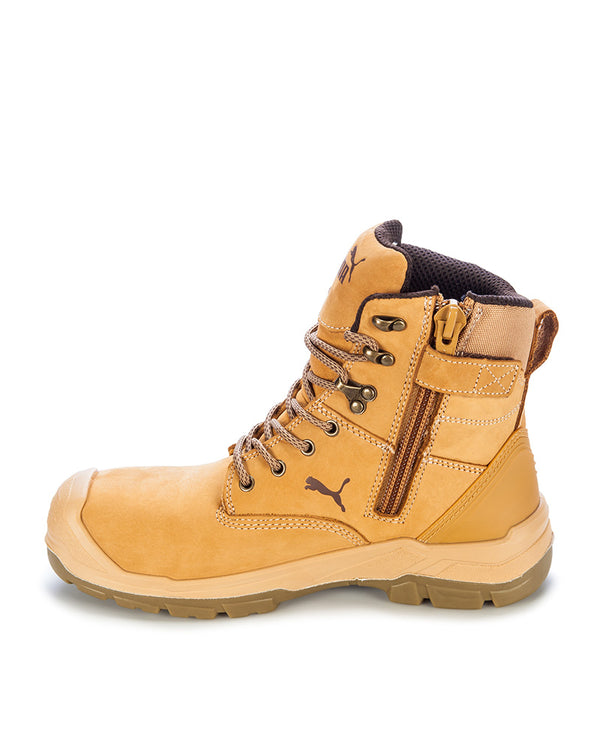 Conquest Waterproof Safety Boot - Wheat