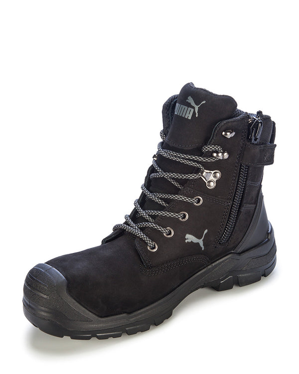 Conquest Waterproof Safety Boot - Black