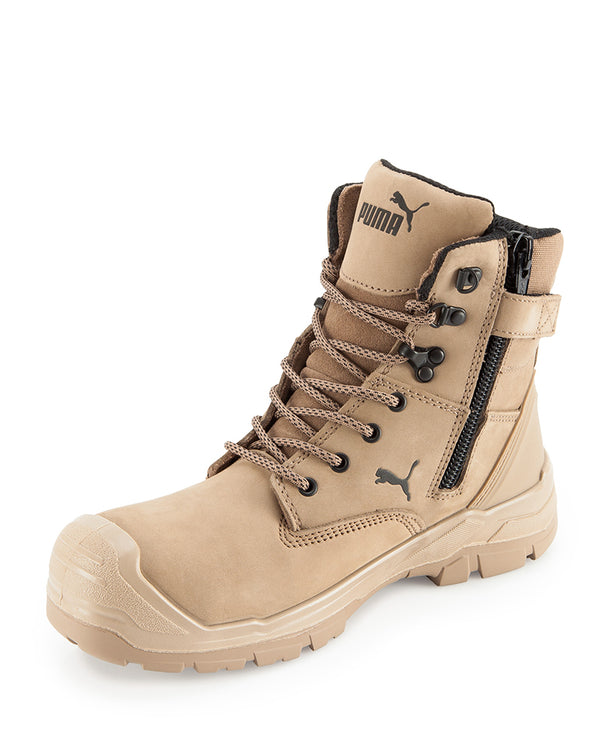 Conquest Waterproof Safety Boot Exclusive to WorkwearHub - Stone
