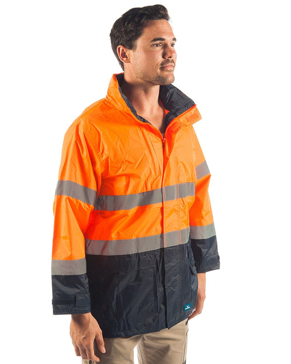 Northern Hi Vis Jacket - Orange/Navy