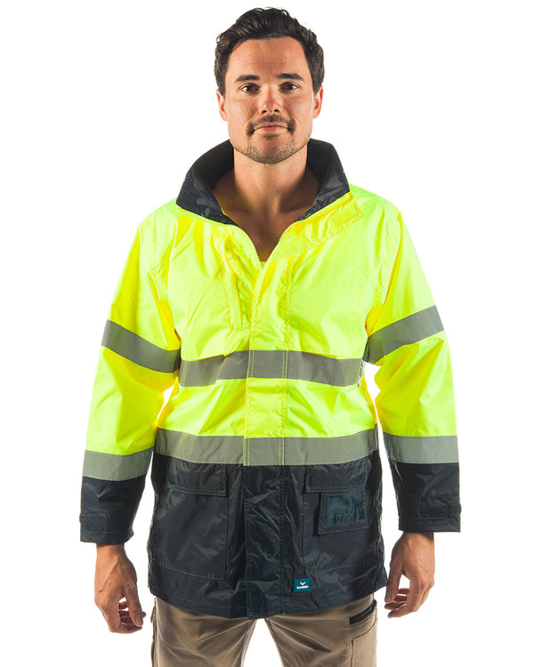 Northern Hi Vis Jacket - Yellow/Navy