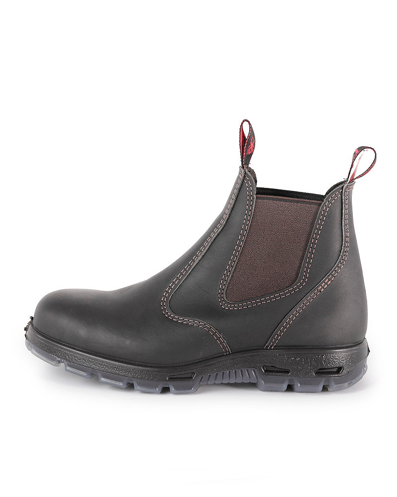 Bobcat Elastic Sided Non-Safety Work Boot - Claret