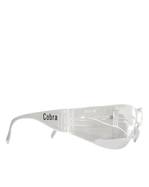 Cobra Clear Lens Safety Glasses - Clear