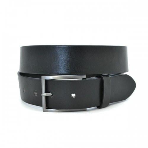 Stavros Leather Belt - Black