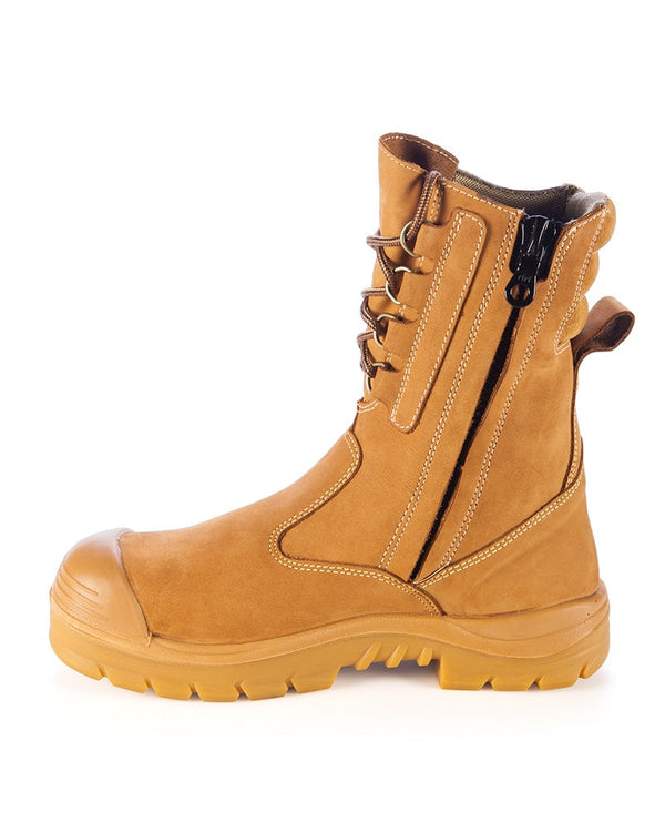Collie High Leg Safety Boot - Wheat